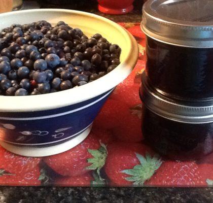 Traditional Newfoundland Blueberry Jam