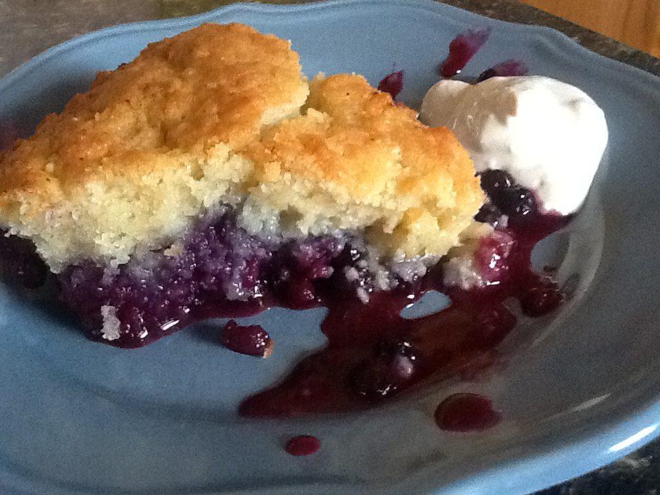 Traditional Newfoundland Blueberry Cobbler Bonita S Kitchen