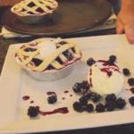 Traditional Newfoundland Plumboy Berries & Cream Cheese Mini Pies