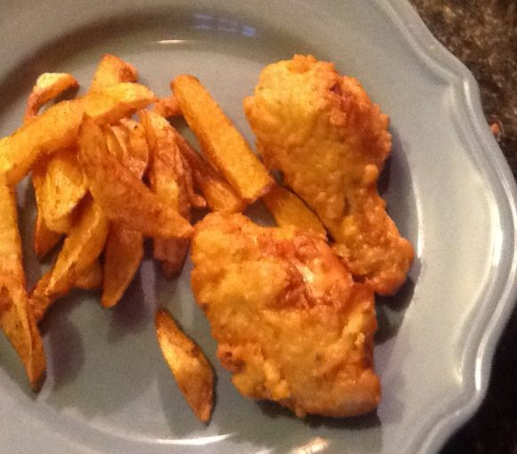 Traditional Newfoundland Battered Deep Fried Chicken