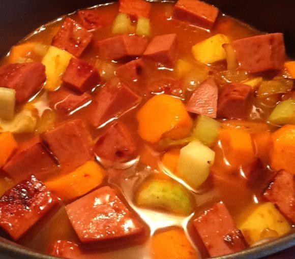 Traditional Newfoundland Bologna Stew
