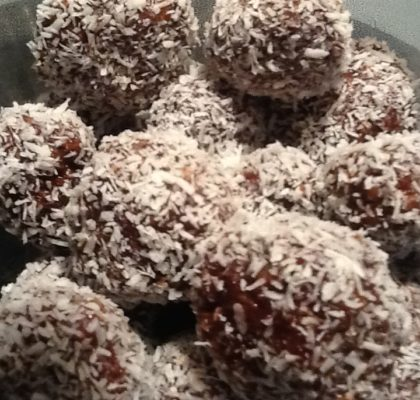 Traditional Newfoundland snowballs