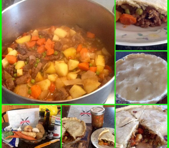 Traditional Newfoundland Beef Stew with Pastry