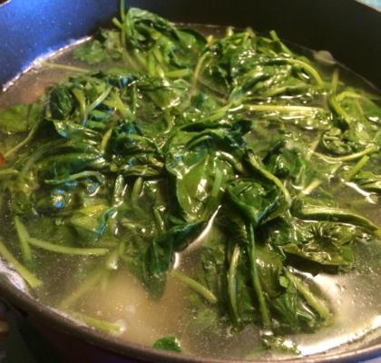 Boiled Turnip Greens