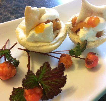 Bakeapple Cream Cheese Tarts