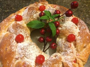 Christmas Fruit Bread