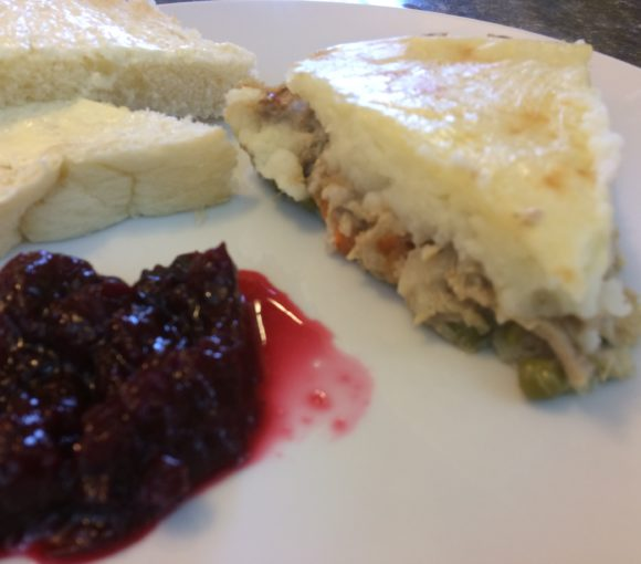 Leftover Turkey Pie