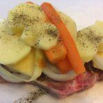 Pork Chop Barbecue Pouches